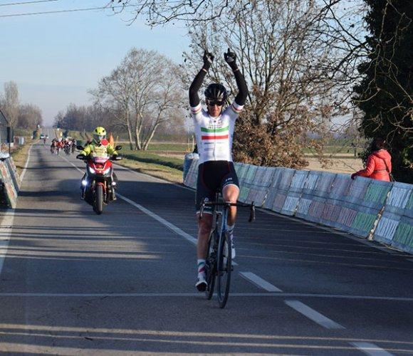 Primo trionfo del 2020 per la Cicli Copparo