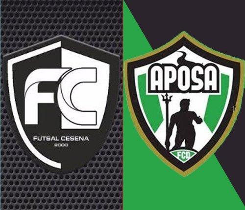 Futsal Cesena vs Aposa 4-1