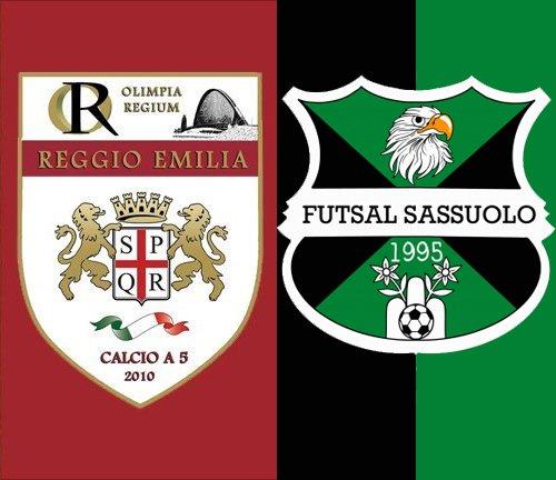 OR Reggio Emilia - Futsal Sassuolo 5-0