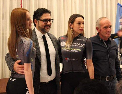 Presentazione ufficiale Capitani Minuterie Metalliche Cycling Club