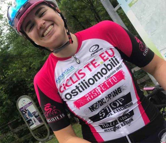 Stefania Festelli: 2.200 km per diffondere i valori etico-sociali di cicliste.eu ostiliomobili