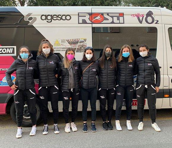 Per il VO2 Team Pink sette panterine all'assalto di Montignoso