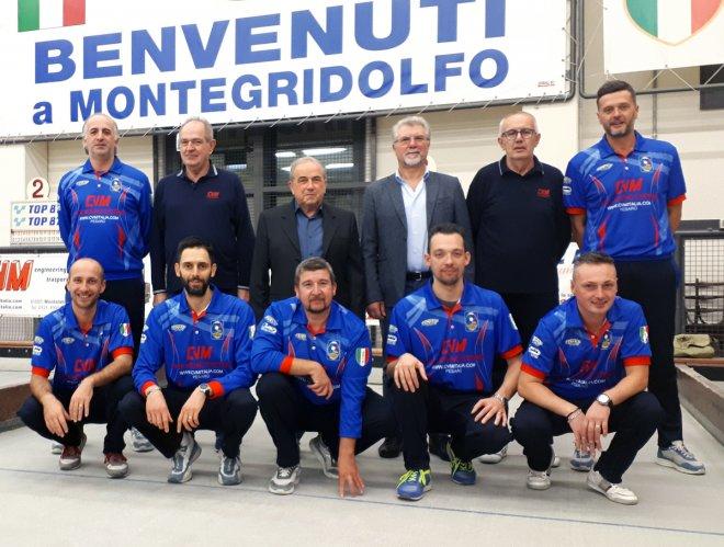 Bocce Serie A:CVM Moving System Montegridolfo-Castelverde 6-2