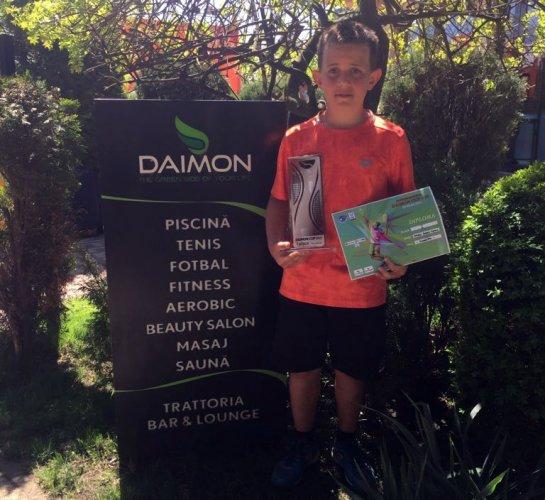 Dennis Spircu vince il torneo Consolation alla Daimon Cup di Bucarest