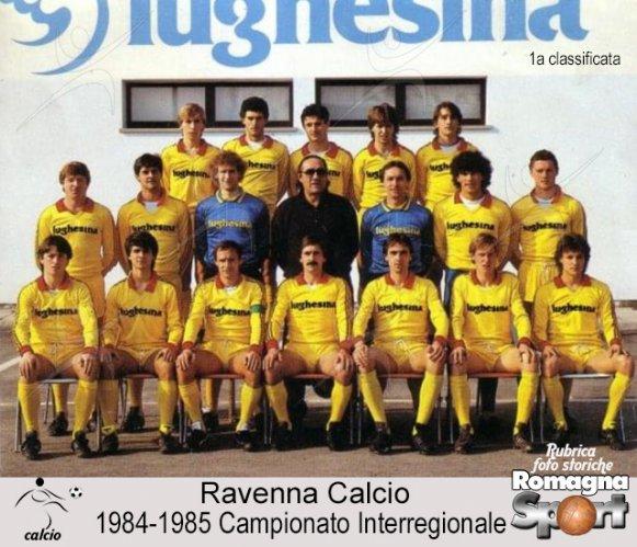 FOTO STORICHE - Ravenna Calcio 1984-85