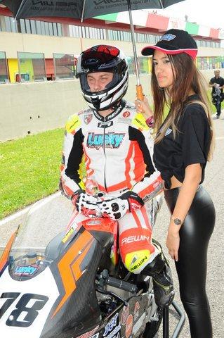 Andrea Raimondi nel weekend del 26/27 maggio a Varano per il 2do round del trofeo Motoestate