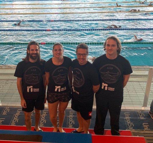 Gli atleti dell' ASD Nuotando al 16° Trofeo Città di Riccione