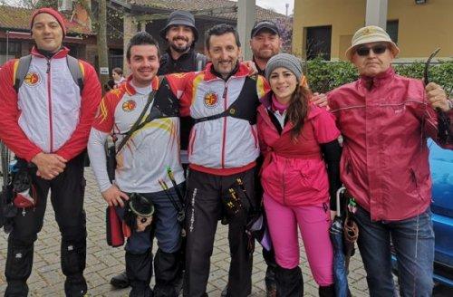 Buon inizio di stagione outdoor per gli Arcieri Bizantini Ravenna impegnati a Ostellato e a Finale Ligure