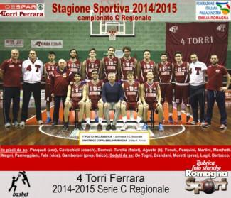 FOTO STORICHE - 4 Torri Ferrara 2014-15