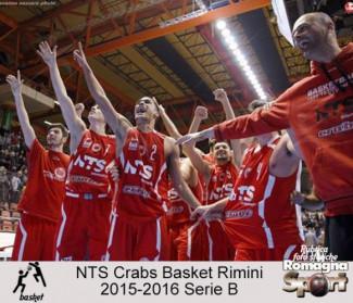 FOTO STORICHE - NTS Crabs Basket Rimini 2015-16