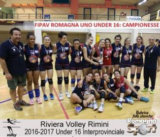 FOTO STORICHE - Under 16 Riviera Volley Rimini 2016-17