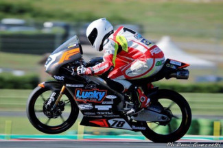 Parla Andrea Raimondi pilota del Lucky Racing Team che corre nel CIV moto3