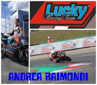 Sabato 12 giugno test per il Lucky Racing Team con il pilota Andrea Raimondi.