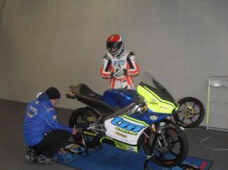 Andrea Raimondi con il Lucky Racing Team pronto per il 2018