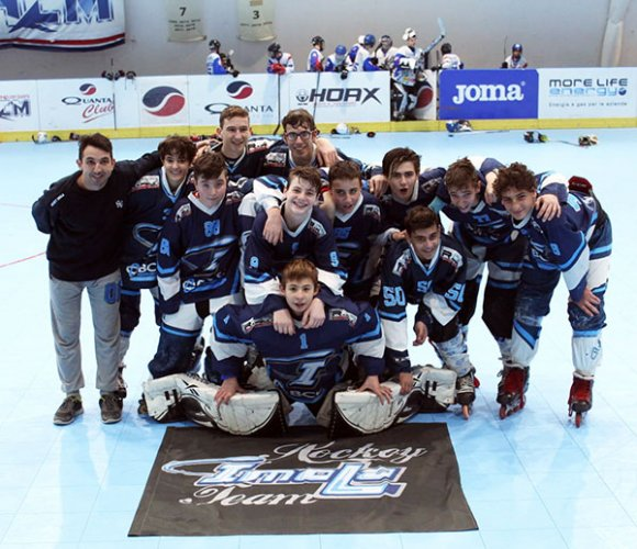 Hockey inline, doppia vittoria per Imola