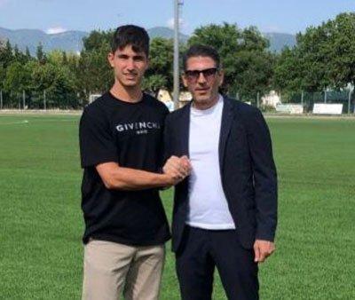 Edoardo Iannoni, centrocampista classe 2001, all'Ancona-Matelica