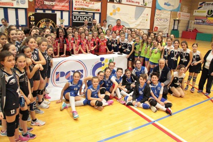 BVOLLEY ROMAGNA: Domenica 24 Febbraio a Riccione grande divertimento con le finali U13 della PGS UNION BVY CUP  2018-2019!