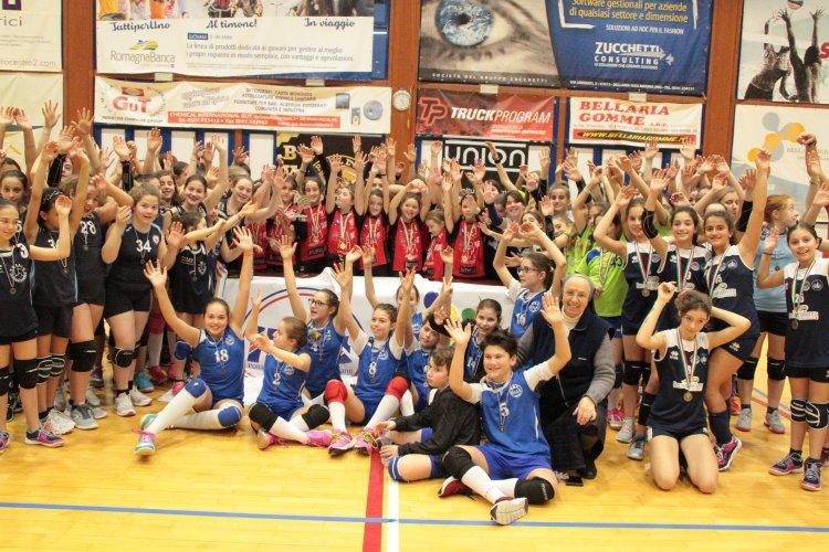 BVOLLEY ROMAGNA: Grande successo per le finali U12 della 4°edizione della PGS UNION BVY CUP 2018-2019!