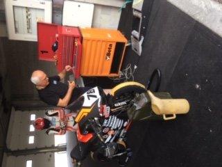 Report test di Raimondi Andrea pilota del Lucky Racing Team dopo l'operazione alla spalla