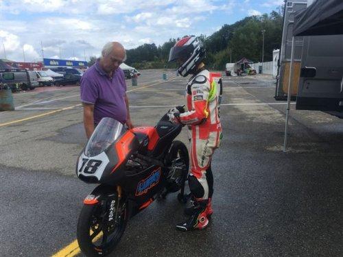 Report test di domenica a Varano di Andrea Raimondi con il Lucky Racing Team