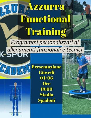 Nasce l'Azzurra Functional Training 2020