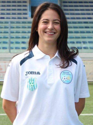 Ludovica Maffei, dalla scherma al calcio della F.le Riccione