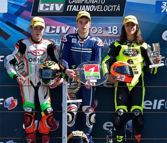 ELF CIV. Doppietta Barni Racing in SBK. Spinelli regala il primo trionfo a Gresini in Moto3