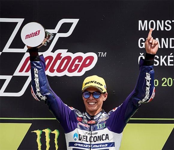 Di Giannantonio domina a Brno, prima vittoria in carriera