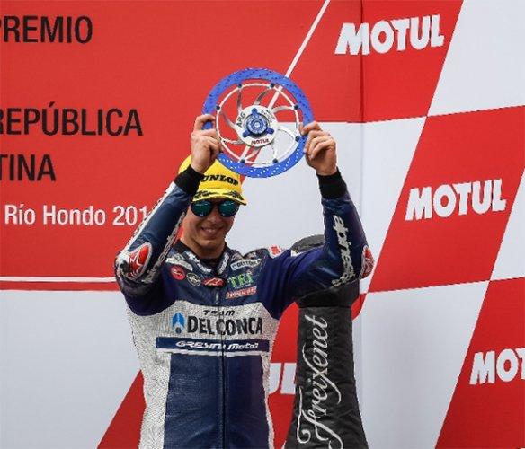 Gran podio per Di Giannantonio a Termas de Rio Hondo