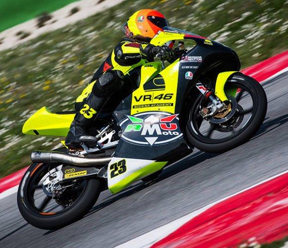 CIV Misano A.: Elia Bartolini si conferma nella top five Moto 3 con RMU VR46