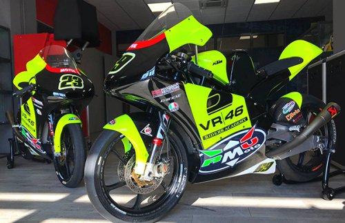 RMU VR46 Riders Academy vola a Valencia per i test pre Campionato