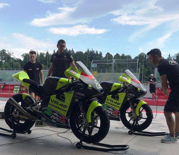 RMU VR46 Racing Academy test collettivi a Imola tutti pronti per il terzo Round