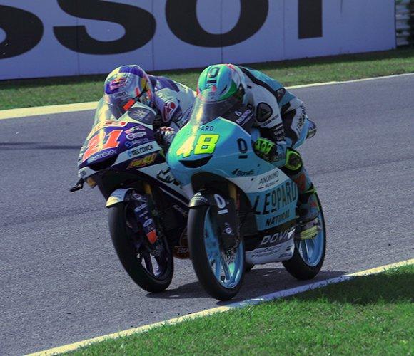 Misano, Moto 3 - Vince Lorenzo Dalla Porta
