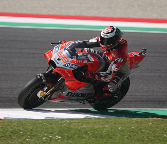 Jorge Lorenzo ha vinto il  gran premio d'Italia