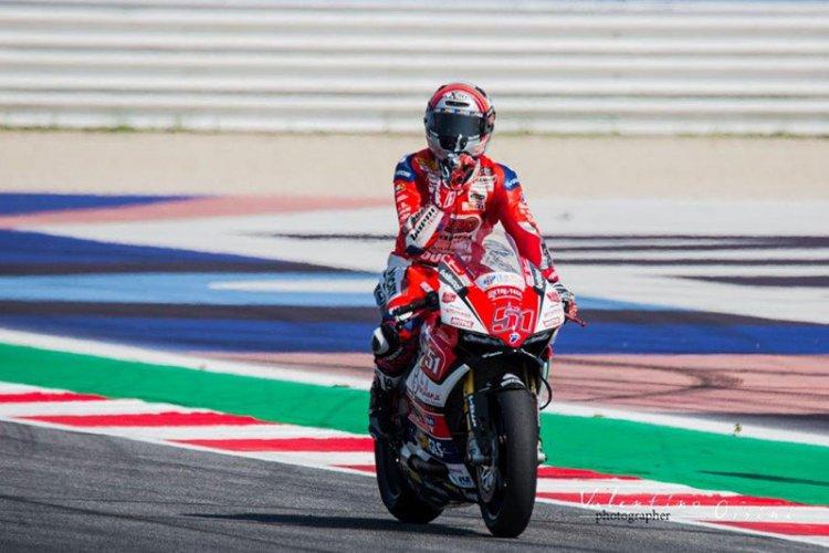 Michele Pirro di nuovo in testa alla Superbike