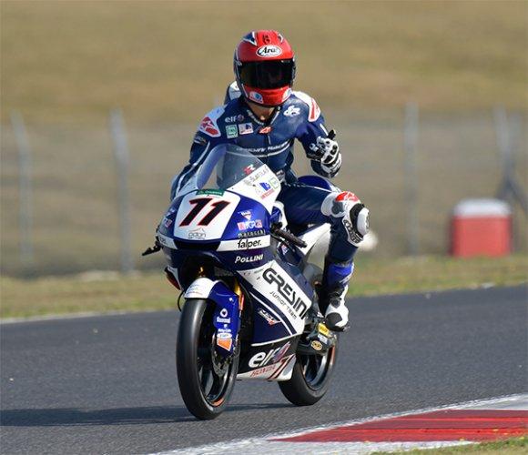Mugello Race2: ancora Rossi sul podio