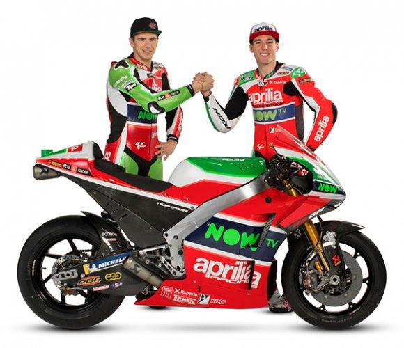Aprilia rinnova la sfida italiana in MotoGP