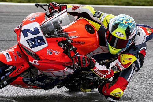 Team Terra e Moto e Giacomini in buca al Lausitzring