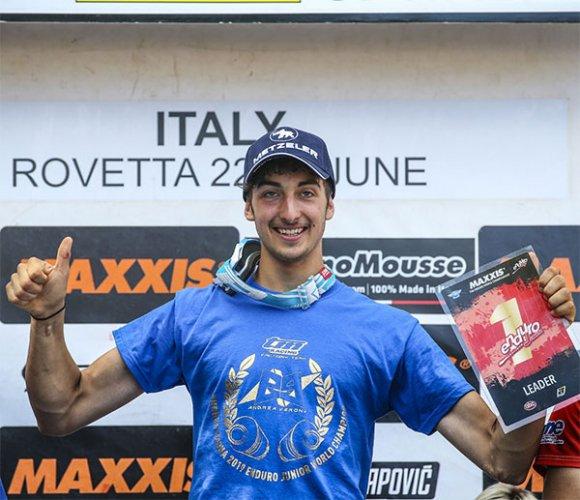 Andrea Verona dei Talenti Azzurri FMI è Campione del Mondo Enduro Junior 2019