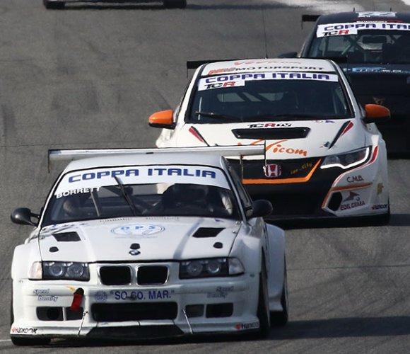 Tornano le quattro ruote a Misano World Circuit con i campionati del gruppo Peroni race