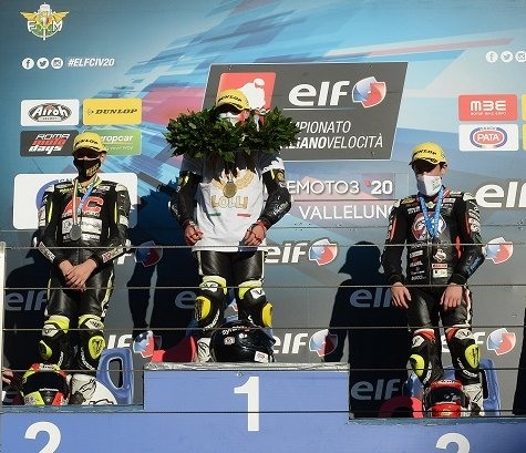 ELF CIV. Yamaha premia i migliori piloti della Premoto3