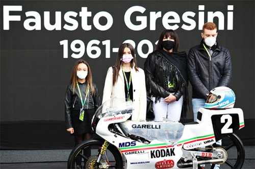 Formula1 e MotoGP insieme: il tributo a Fausto Gresini