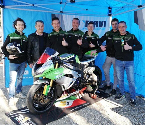 Team Green Speed - Ready, steady, go: Saltarelli, Vincenzi, Rolfo!
