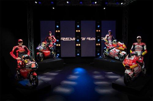 Gresini Racing team: Svelati i progetti Moto3 e Moto2 2021