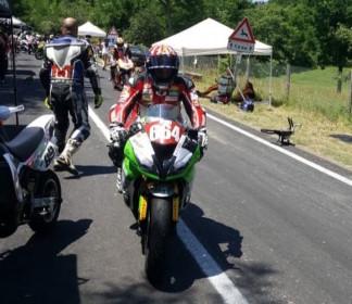Green Speed con Kevin Manfredi alla tappa bolognese del Campionato Italiano Velocità in Salita, a Monzuno.