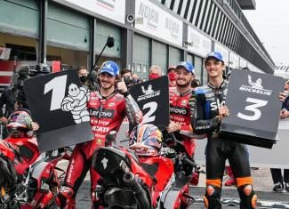 Spettacolo Ducati al Gran Premio Nolan del made in Italy e dell'Emilia-Romagna