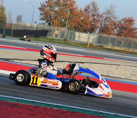 IAME Series Italy: Lorenzo Leopardi vince sul Circuito Internazionale di Adria nella categoria X30 mini Entry Level.