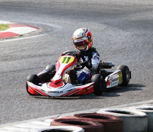 Kart. Leopardi, un altro podio per il piccolo pilota di Sant'Agata Bolognese