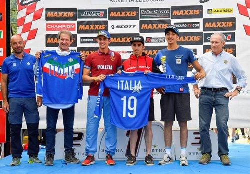 Svelata al GP d'Italia del Mondiale Enduro la Maglia Azzurra FMI 2019