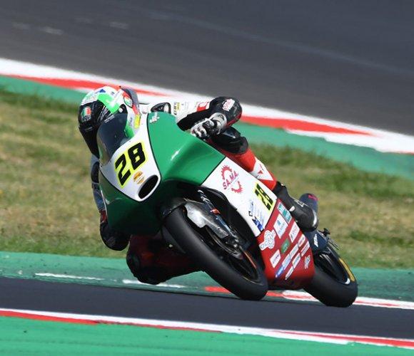 CIV Moto3, Misano: Bertelle vince Gara 1, Bartolini penalizzato